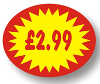 Price Point Promotional - £2.99 - Label