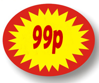 Price Point Promotional - 99p - Label