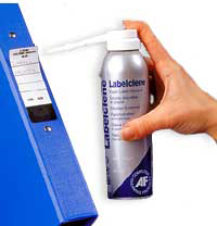 Labelclene - Self-adhesive label remover.
