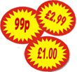 Price Point Promo Labels